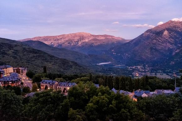 Amanecer en Cerler, Huesca